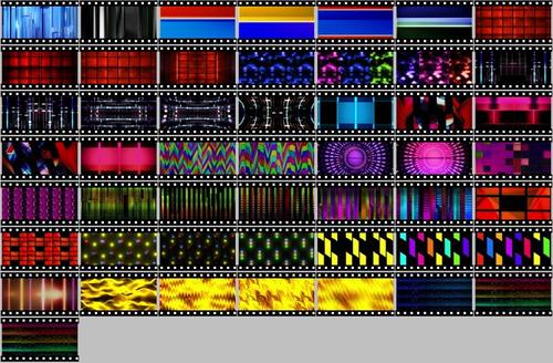 Flex C V - 976 Loops Efeitos Resolume Grand Vj Painel De Led
