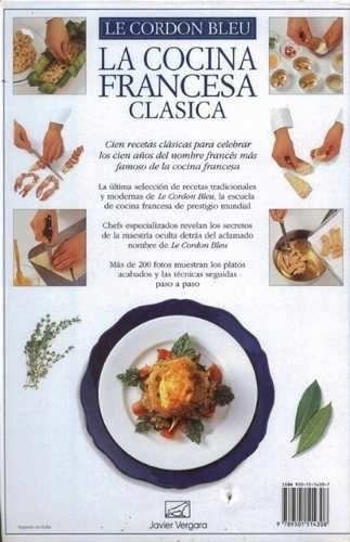 La Cocina Francesa Clasica Le Cordon Bleu Envio Gratis Mercado Libre