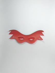 Máscara Folia Vermelha