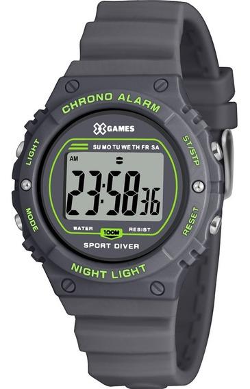 Relógio X-games Masculino Cinza Xkppd063bxgx