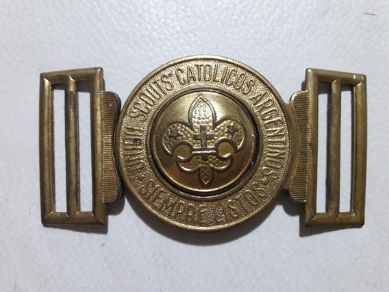 Hebilla Unión Scouts Católicos Argentina