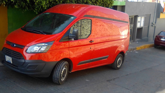 Ford Transit 2.2 Van Larga Techo Alto Aa Custom Mt 2017