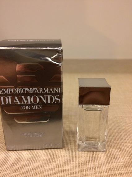 Perfume Miniatura Emporio Armani Diamonds For Men 4ml Edt