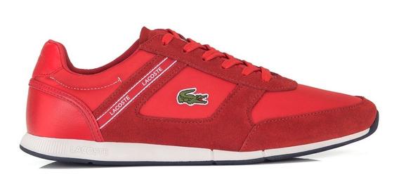 Tênis Lacoste Menerva Sport 318 1 Cam Vermelho