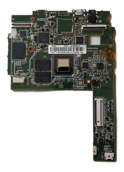 Placa Lógica Tablet Cce Tf74w Original Seminova