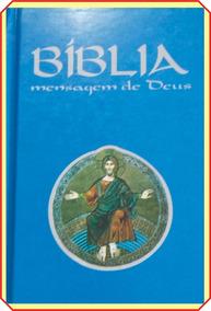 Bíblia De Bolso Edição Católica } Frete Grátis+ Lindo Brinde