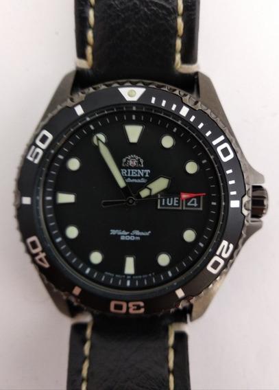 Relógio Orient Ray 2 Automático De Mergulho (2 Pulseiras)