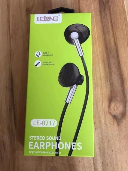 Fone De Ouvido Som Estéreo Le-0217