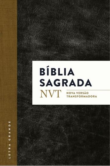 Biblia Sagrada - Classica Capa Preta - Mundo Cristao