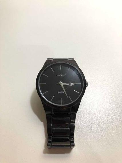 Relógio Curren Quartz - Preto