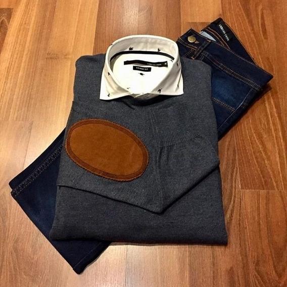Sweater Camisa Y Patalon Cero Es Tres 2019