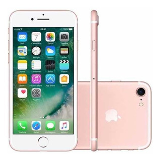 Apple iPhone 7 32gb Vitrine Pequenos Detalhes Nas Laterais