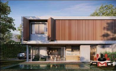 Casa Com 4 Dormitórios À Venda, 404 M² Por R$ 4.015.037,16 - Riviera - Módulo 12 - Bertioga/sp - Ca0790