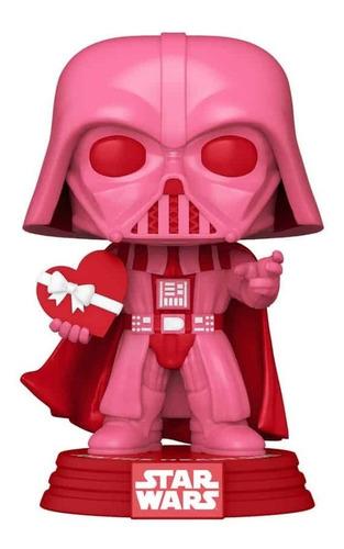 Imagem 1 de 3 de Boneco Funko Pop Star Wars Valentine's Day Darth Vader 417
