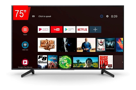 Tv Led Sony 75 Xbr-75x805g Smart Uhd 4k, 4k X-reality Pro