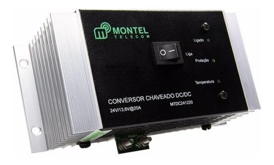 Conversor Móvel 24vcc / 13,6vcc - Montel
