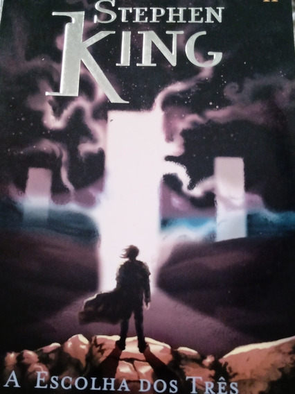 Livro A Torre Negra - A Escolha Dos Três