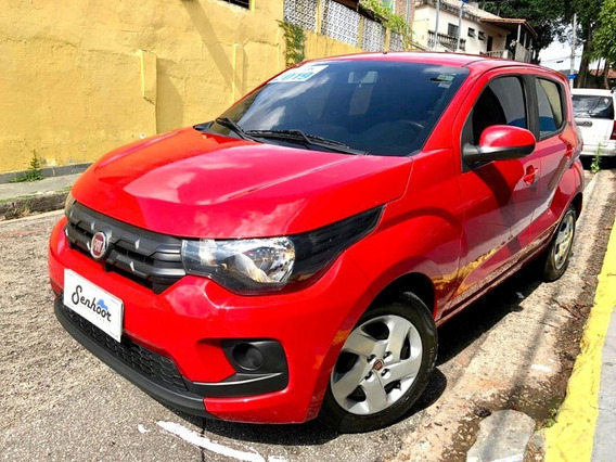 Fiat Mobi Like 1.0 Manual Vermelho - 2018