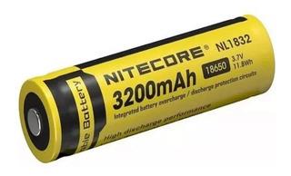 Batería Recargable 18650 Nitecore 3.7v 3200mah Nl1832