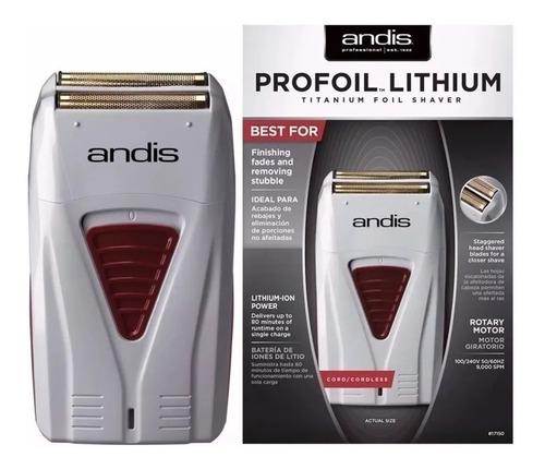 Maquina Afeitadora Andis Profoil Lithium Sahver Inalambrica