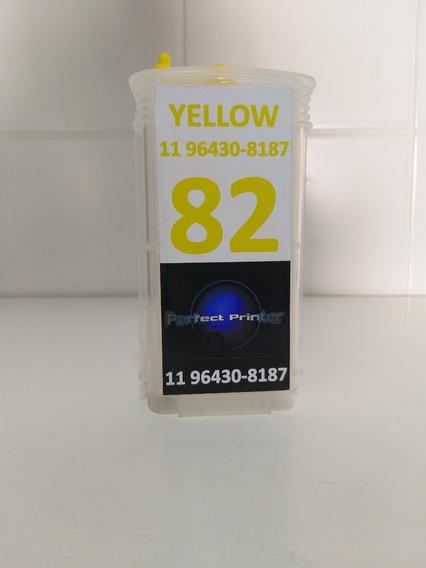 Cartucho Recarregavel Hp 500 800 Yellow