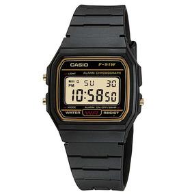 Relógio Casio Masculino - F-91wg-9qdf