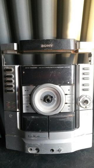 Placa Com Painel De Micro System Sony Mhc-rg290
