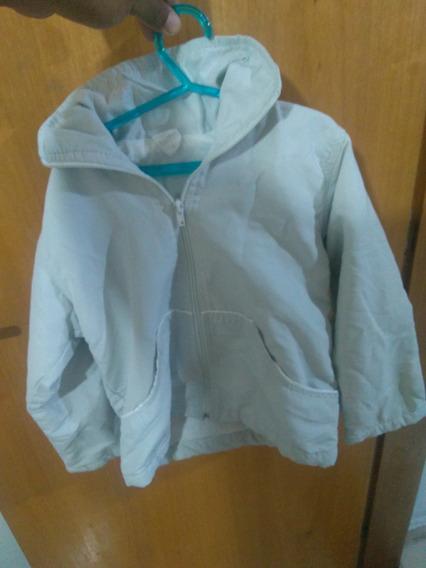 Jaqueta De Frio Infantil Com Capuz