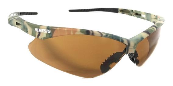 Oculos Nemesis Teste Balistica Tiro Airsoft Fume Espelhado