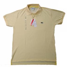 cbdea95e430 Camisa Polo Lacoste Amarela Tamanho - Pólos Manga Curta Masculinas ...