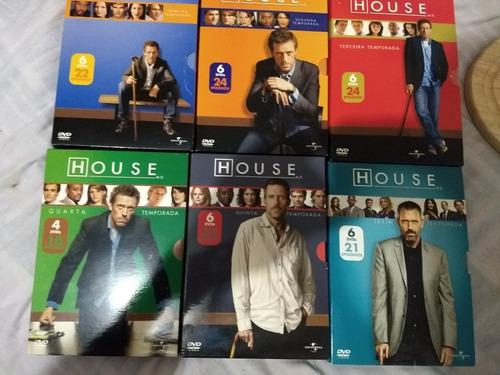 Coleção House(temporadas De 1 A 6)