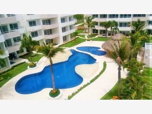 Departamento En Venta Penthouse En Blvd Barra Vieja Con Club De Playa Vm
