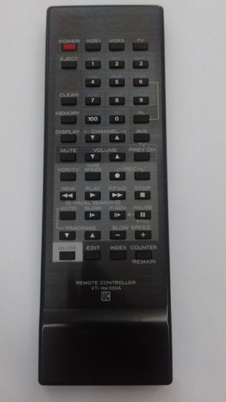 Controle Remoto Video Cassete K7 Hitachi Vt Rm330a