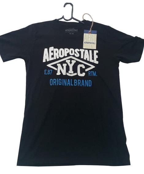 Camisa Masculina Aéropostale Azul
