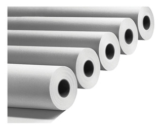 Rollo Papel Plotter Bond Blanco Opaco 90grs 91cm A0 X 5 Uni