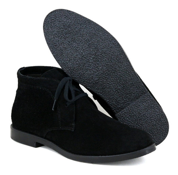 Botina Luxury Desert Boots Estilo Chelsea Sir.w Casual Co...