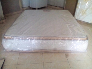 Colchon Full De 54 Doble Pillow Top Ortopedico Pillowtop