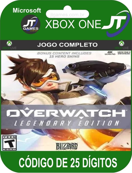 Overwatch Legendary Edition Código De 25 Dígitos