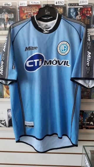 Camiseta Belgrano Córdoba Mitre 2000 2001 Original