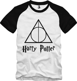 Camisa Camiseta Harry Potter Relíquias Da Morte