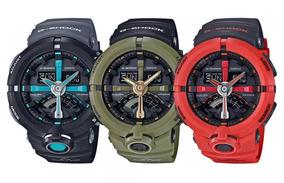 Relógio G-shock Ga500 Hsete Funcional Colorido