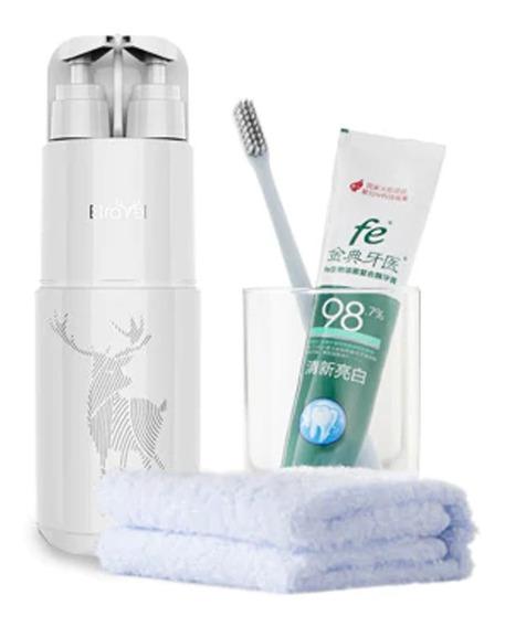 Set De Higiene Personal Para Baño Viaje Frasco Multifuncion