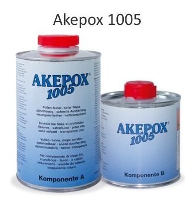 Resina Epóxi Akepox 1005 Marmores Granitos Akemi