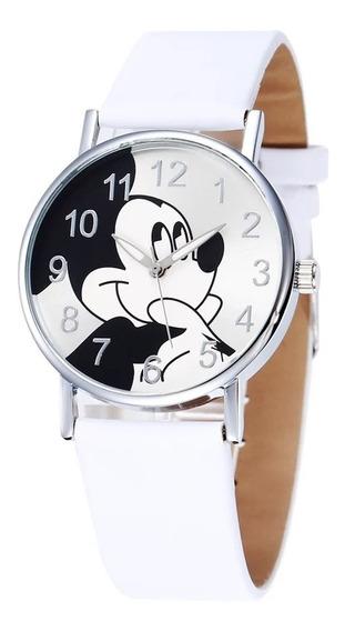Relógio Mickey Feminino + Caixa.
