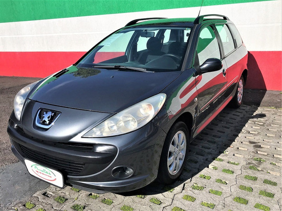 207 Sw Xr Sport 1.4 Flex, Completo. Lindo Carro!
