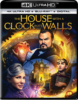 The House With A Clock In Its Walls 4k + Blu-ray + Digit. Hd
