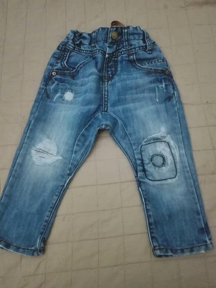 Jeans Zara Kids Nene Casi Sin Uso