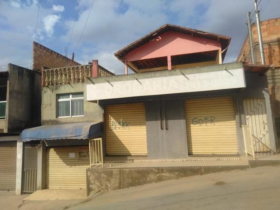 Casa De 4 Quartos Com 3 Vagas De Garagem E 2 Lojas No Chacaras Contagem - 1616