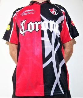 Camiseta Futbol Atlas De Mexico - 2001-