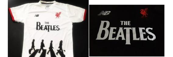 Camiseta The Beatles Liverpool Xxxl Boca +72cm Mccartney